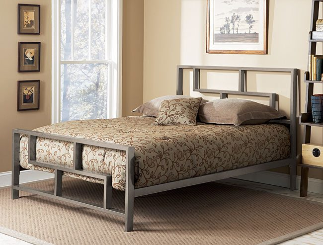 What are the dimensions of a full size bed frame? The length of a standard double size bed frame with low end is 78 inches while its width is inches. In terms of height, it is basically 34 inches high.