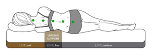 level sleep layered support