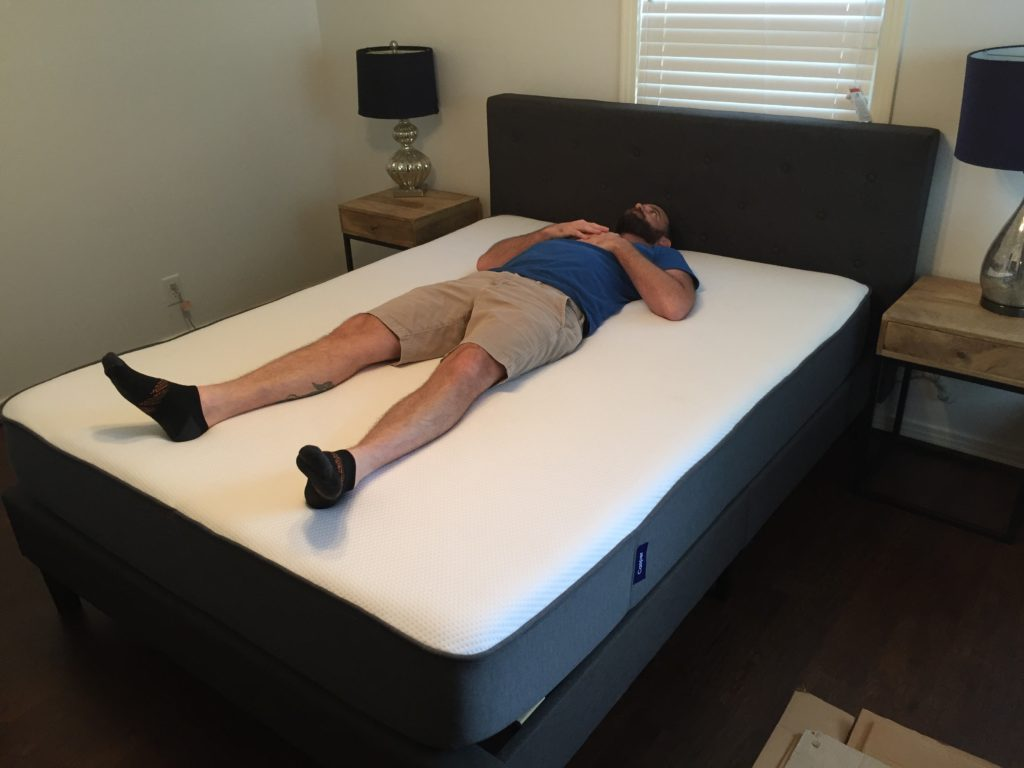 Casper Mattress On Platform Bed