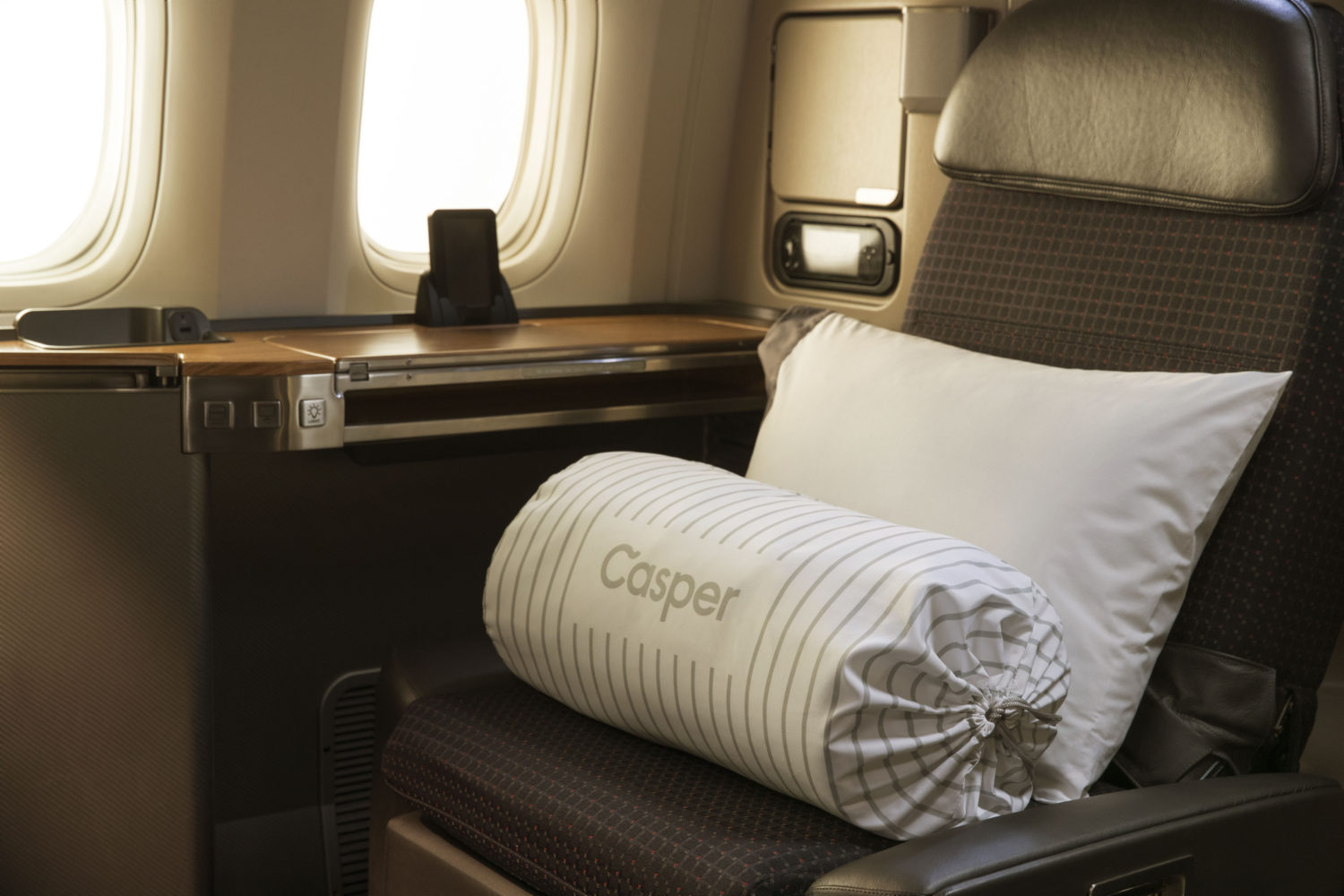 Casper Teams Up with American Airlines for Better In-Flight Sleep
