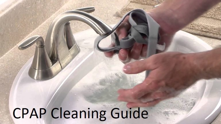 how to clean a cpap machine