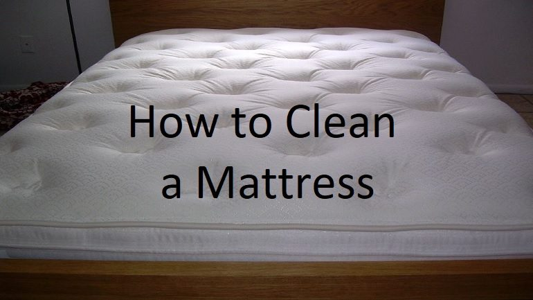 how to clean a mattress stain removal deodorizing tips more. Black Bedroom Furniture Sets. Home Design Ideas