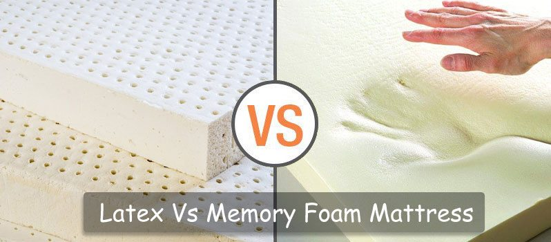 Latex vs Memory Foam Mattresses: What's the Difference?