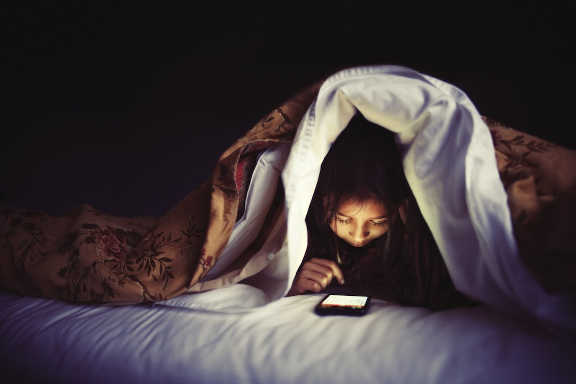 Study: Screen Time Before Bed Affects Kids' Sleep Far Worse Than Adults