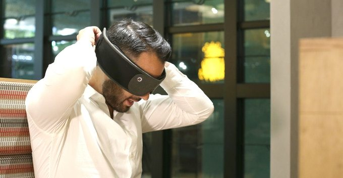 Fall Asleep Anywhere With 'Silentmode' Blackout Audio Sleep Mask