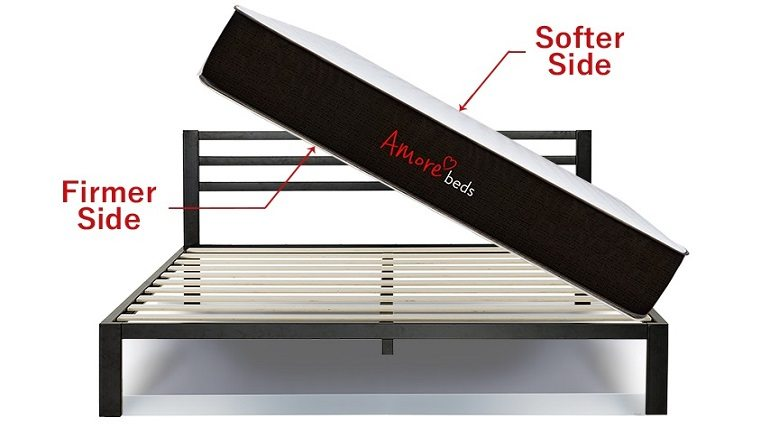 amore flippable mattress review