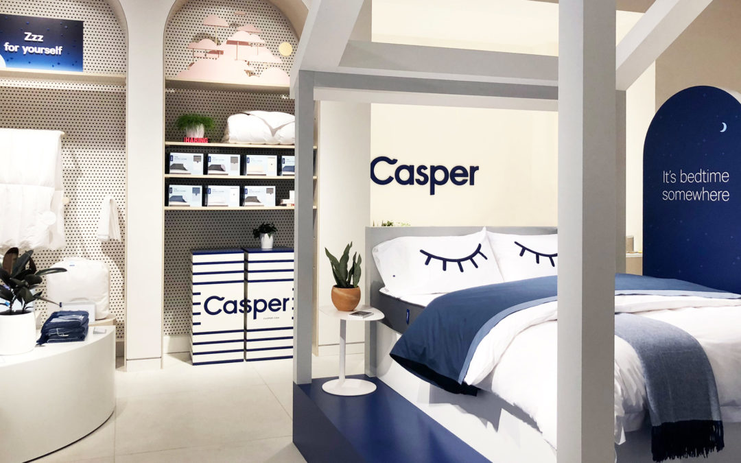 Casper's First Permanent Store Offers Complimentary 'Nap Pods'
