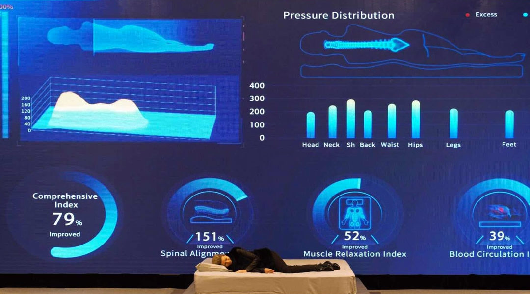 HEKA's New 'AI Mattress' Reshapes Itself in Real Time as You Sleep