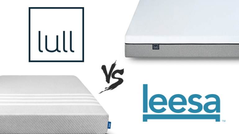 leesa vs lull mattress