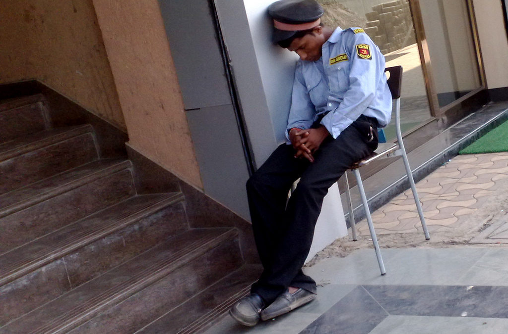 Sleeping Security Guard Sues Supervisors for Right to Snooze on the Job