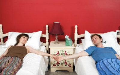 1 in 4 Couples Sleeps Apart for a Better Night's Rest
