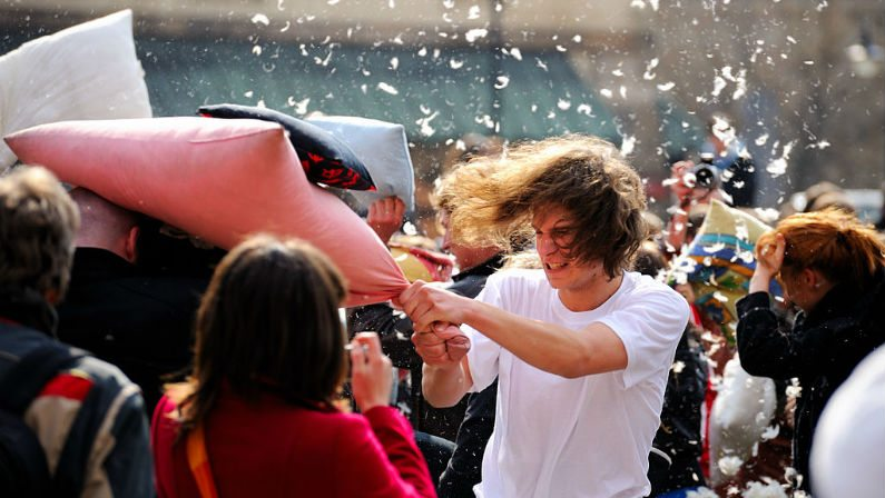 MyPillow Seeks New Guinness World Record for Largest Pillow Fight